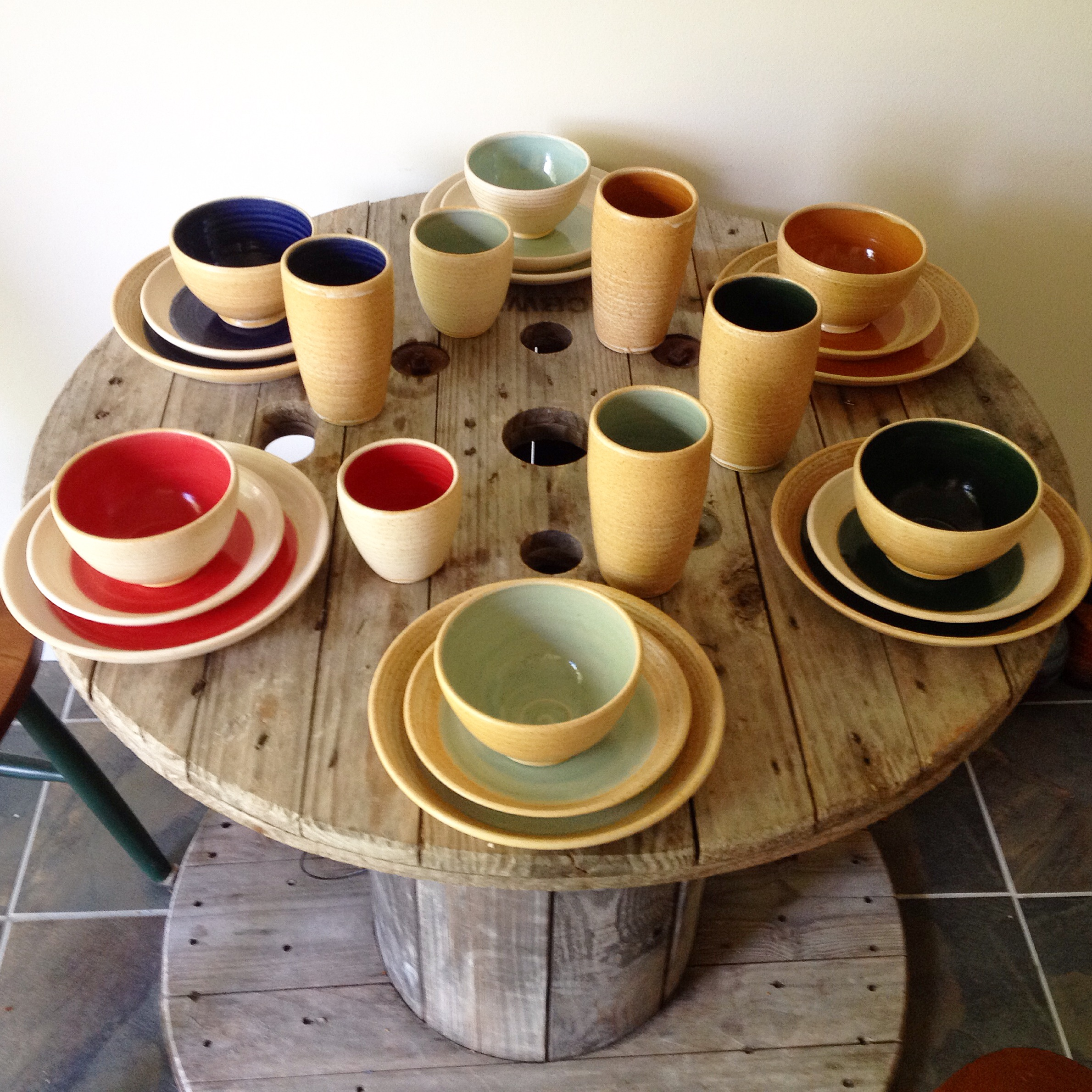Color Pop Dinnerware by Jennifer Creighton